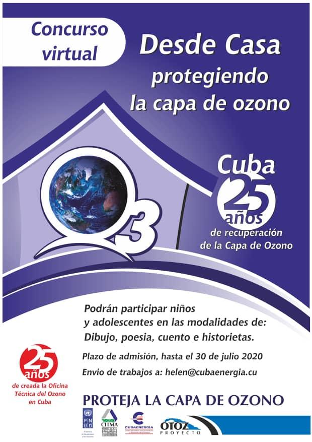 Concurso Virtual sobre la proteción de la capa de ozono